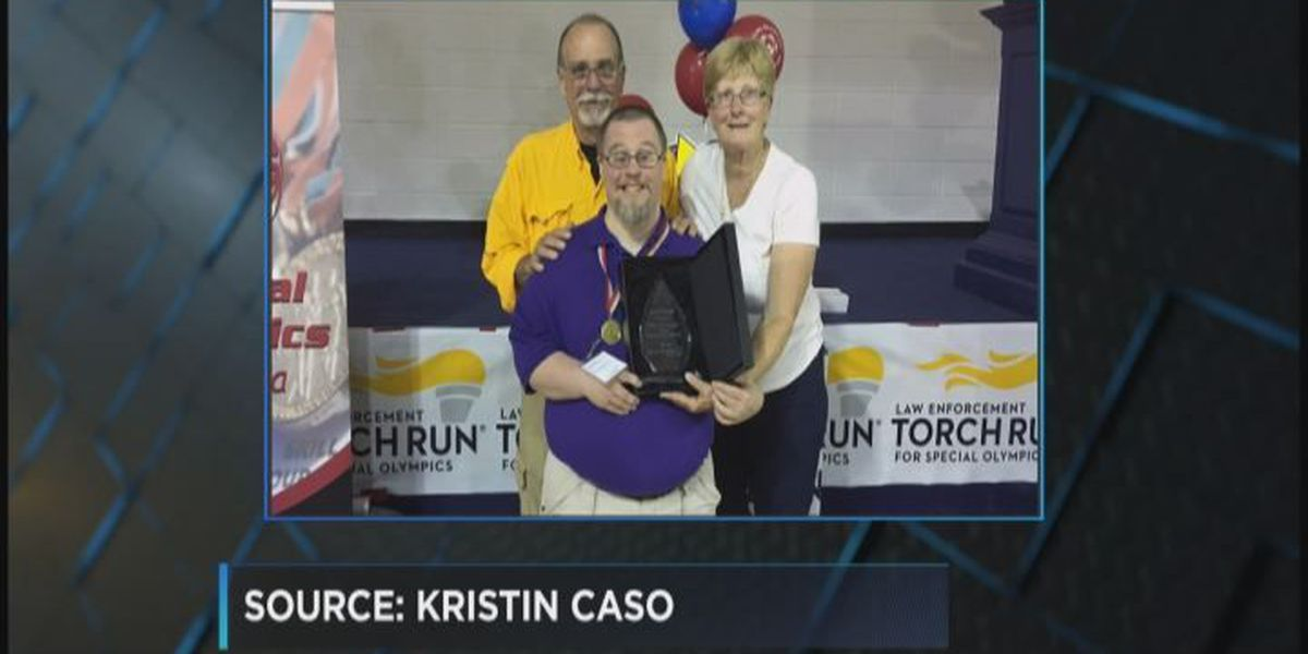 Special Olympics family gets honored
