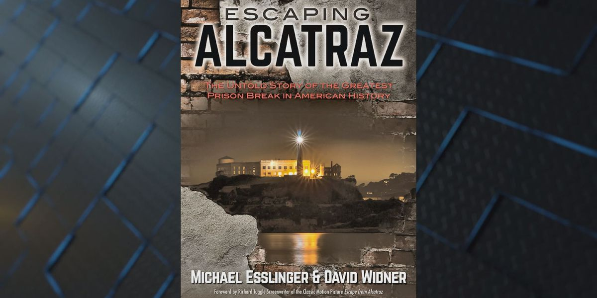 Nephew's book gives 'untold story' of uncle's prison break from Alcatraz