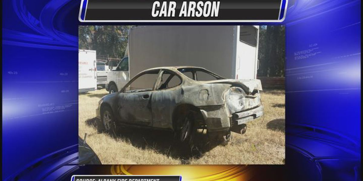 Albany car arson under investigation
