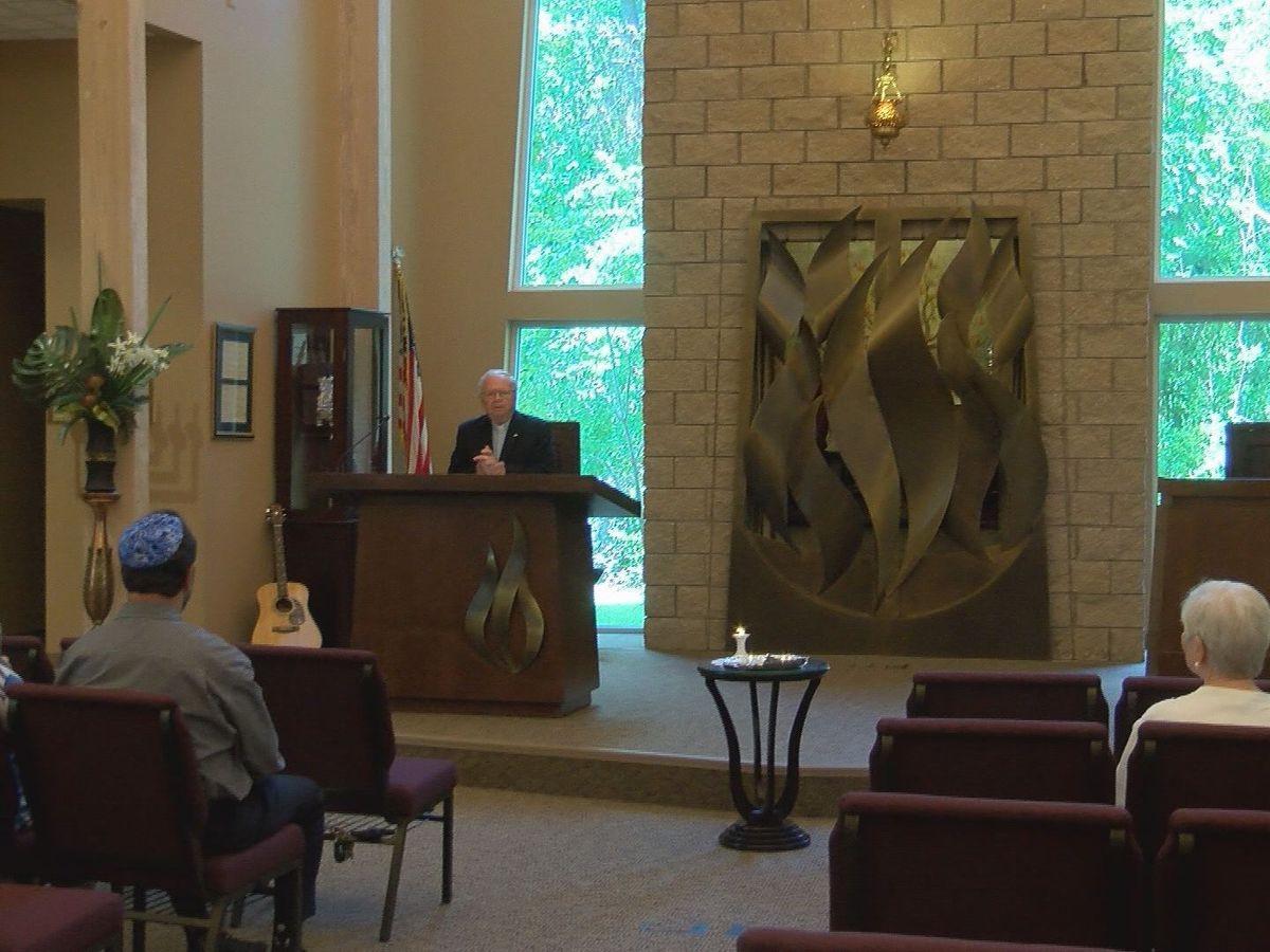 Religious leaders bring awareness to current religious violence while remembering those killed in the Holocaust