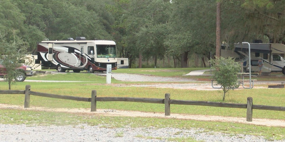 Ga. state parks fill up with Florida evacuees, vacationers