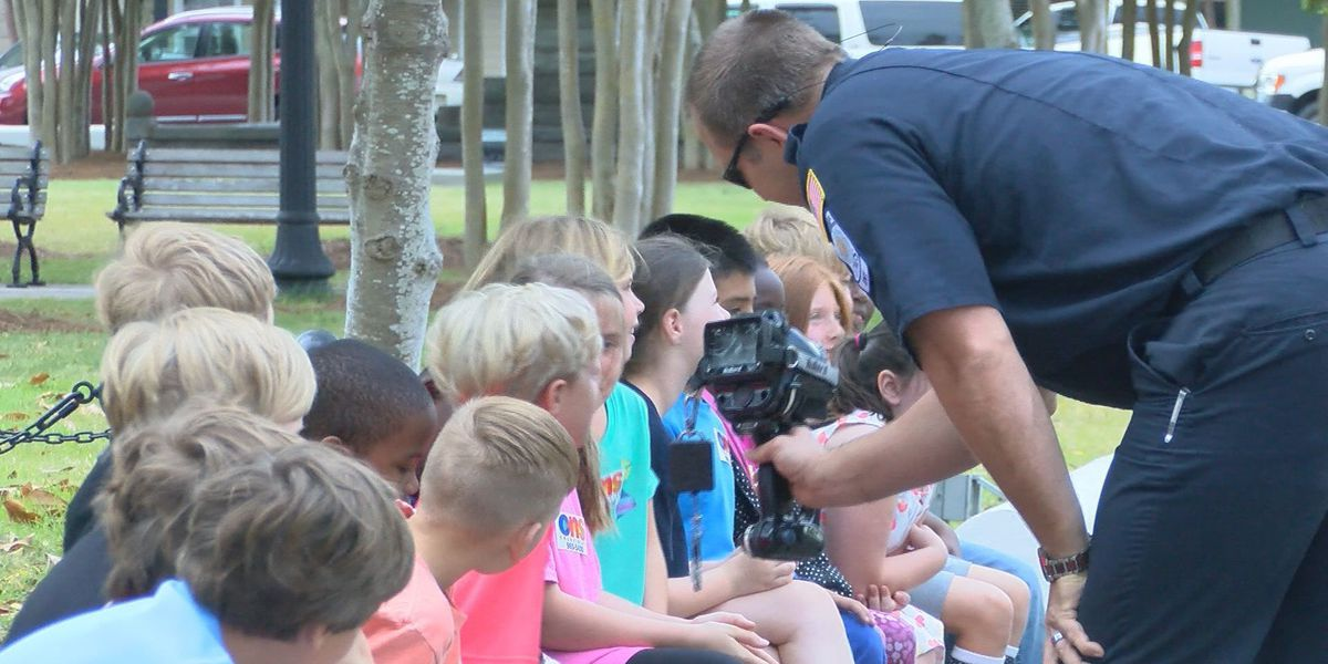 Hometown Heroes teach Moultrie students
