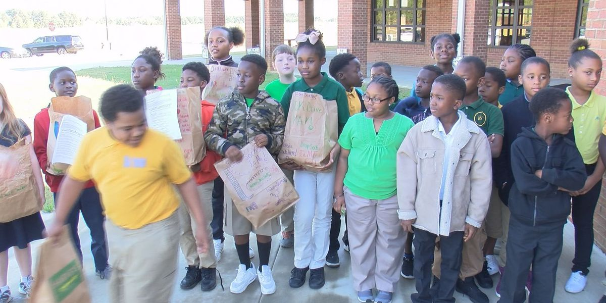 Dawson students rock 'Socktober', collect 460 pairs of socks for homeless