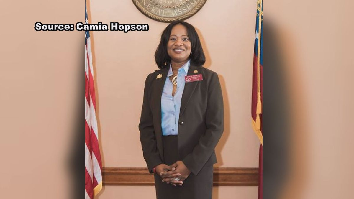 District 153 State Representative, CaMia Hopson, speaks about upcoming election