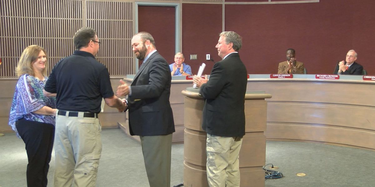 EMS of the Year named at Dougherty Co. Commission meeting
