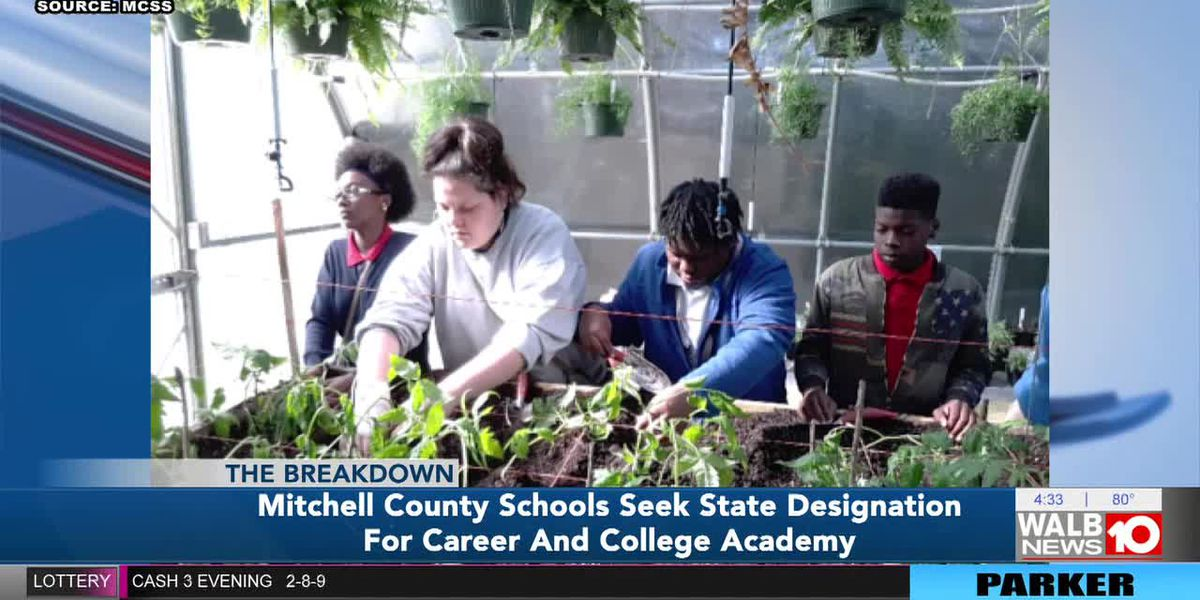 The Breakdown: Mitchell Co. Schools seeks college and career academy designation