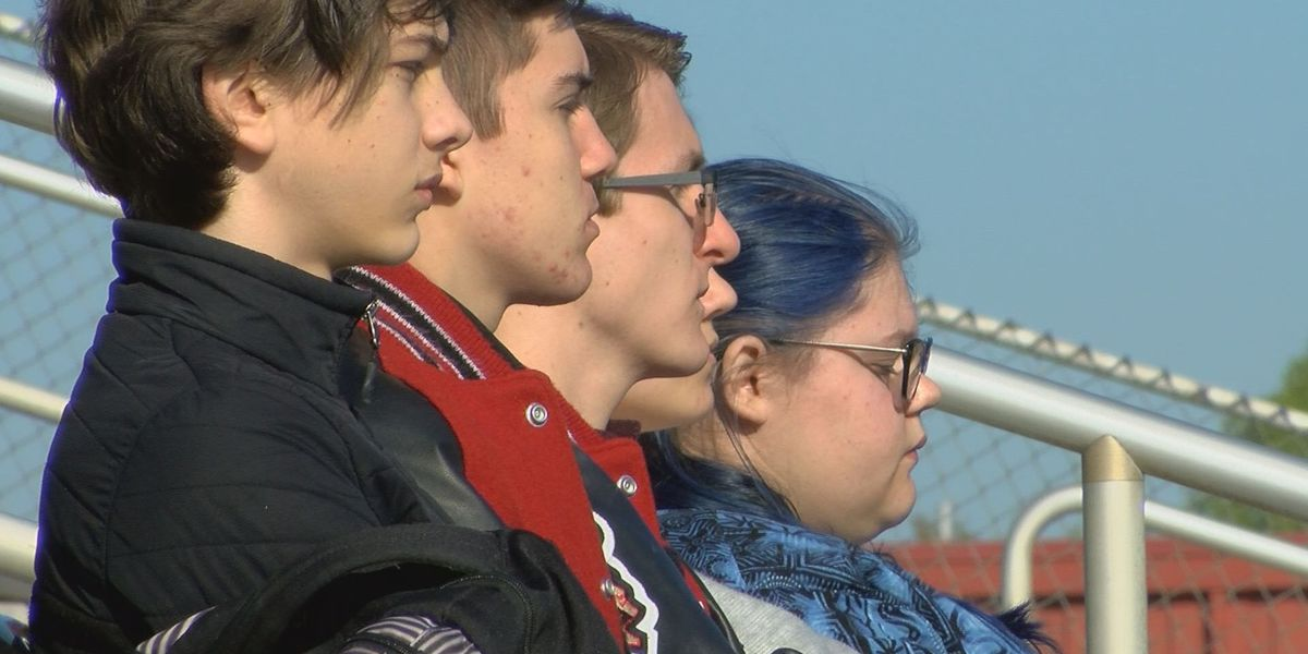Lee Co. students participate in National School Walkout Day