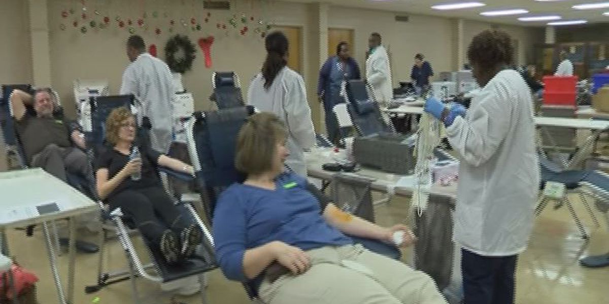 Blood donations can help during the holidays