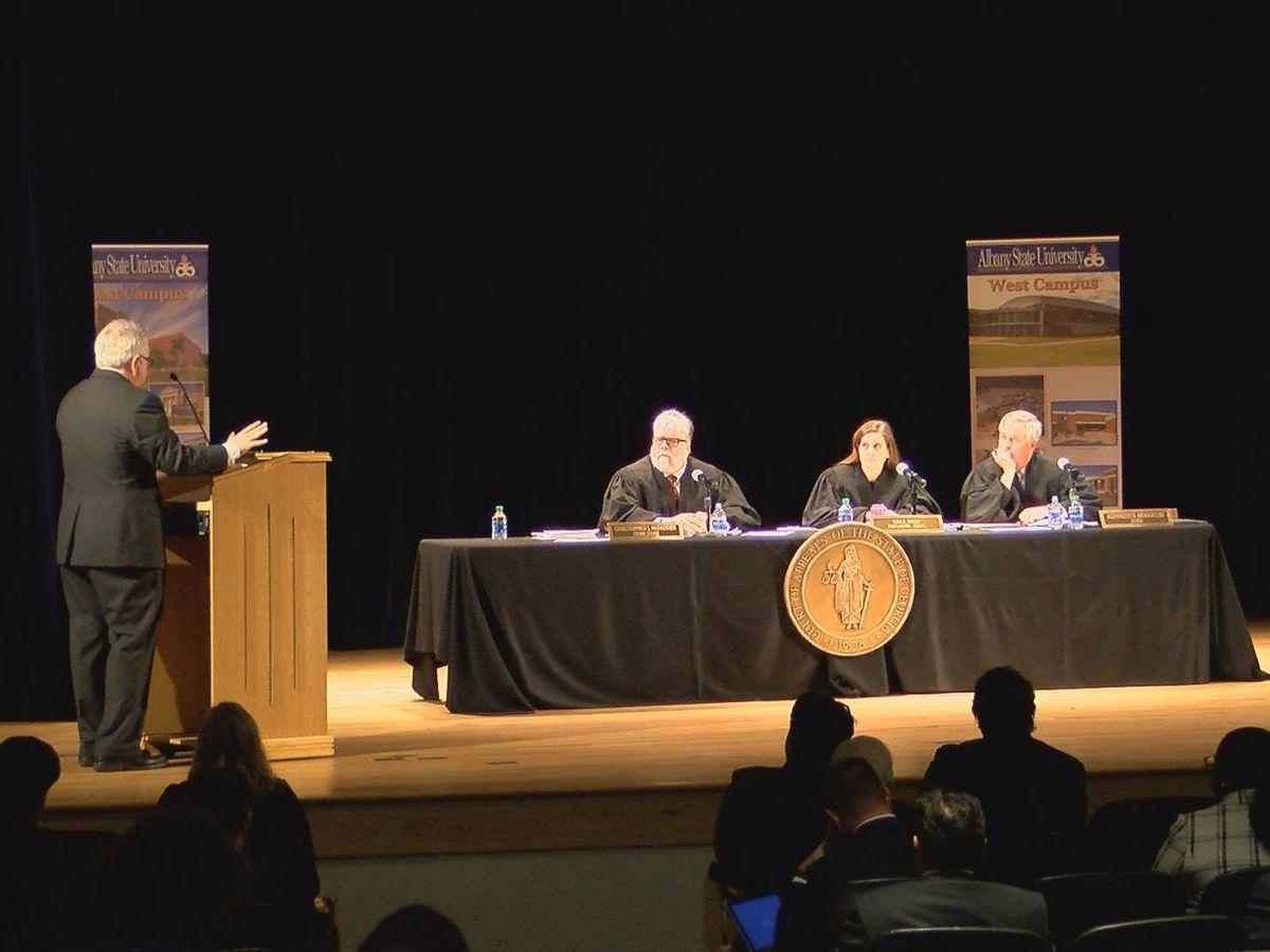 Georgia Appeals Judges speak to Albany students