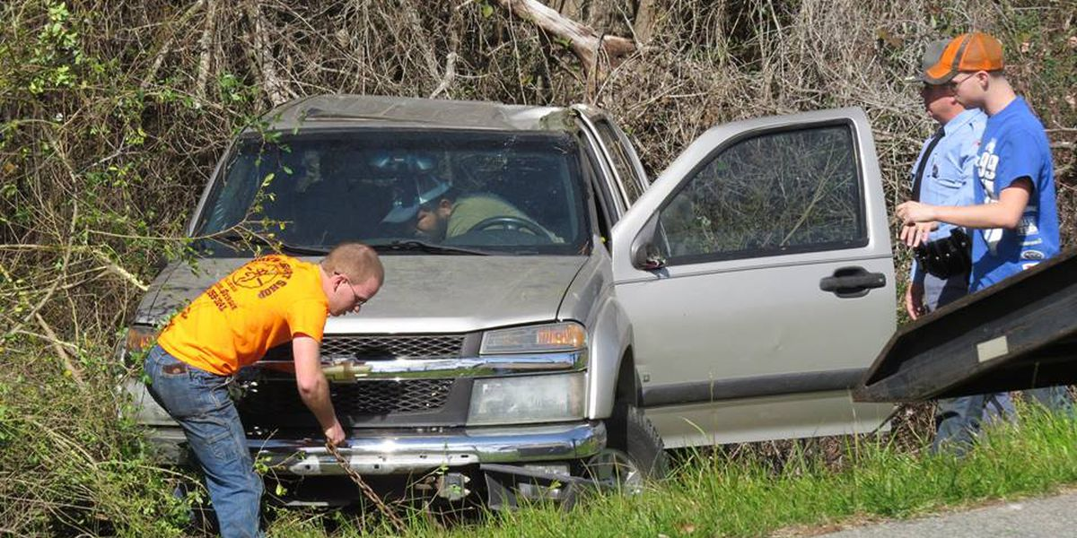 GSP responded to single-vehicle wreck in Coffee Co. Sunday