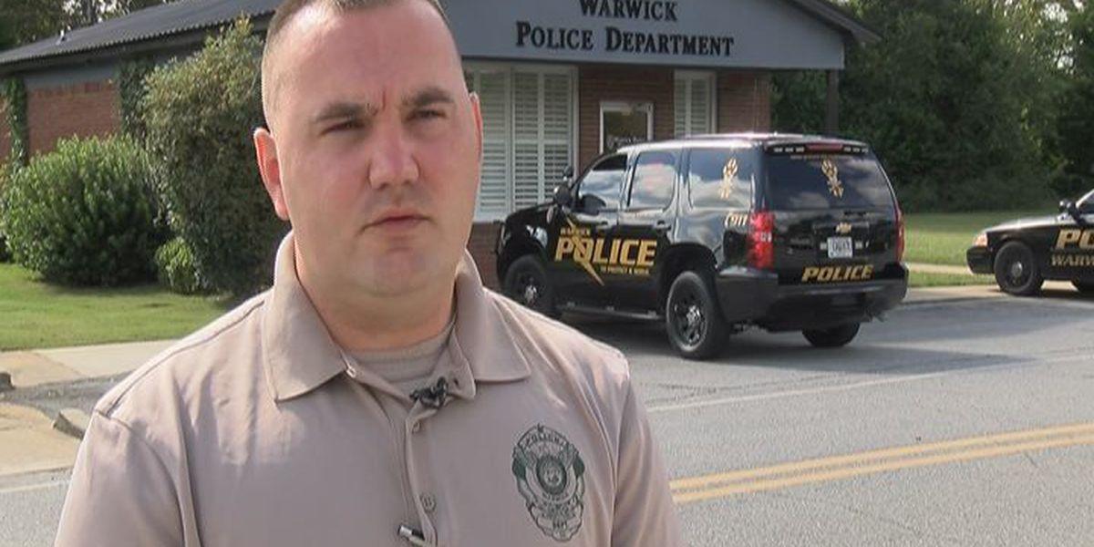 Warwick's new police chief speaks