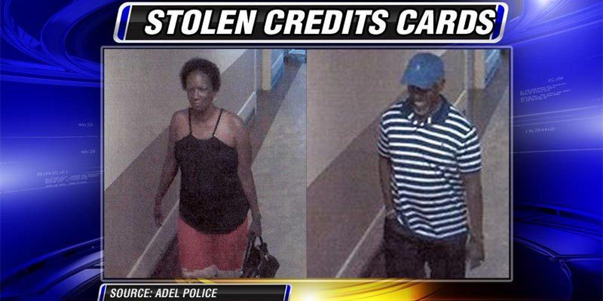 Credit cards stolen in Adel