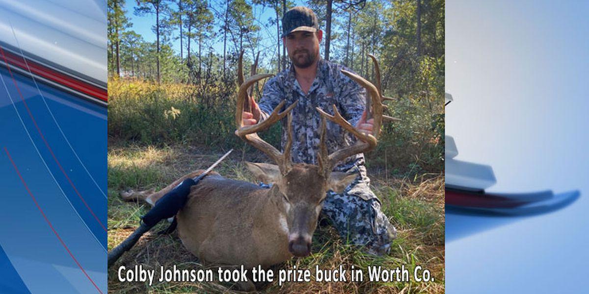 Bodacious buck shot in Worth Co.
