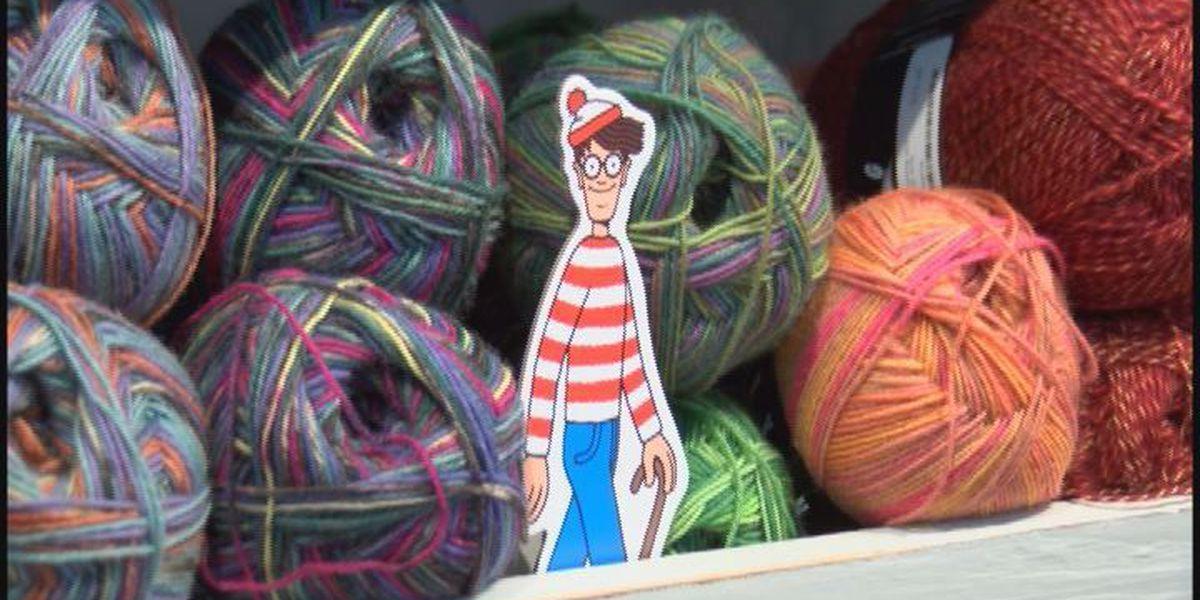 Kids search for Waldo around Thomasville