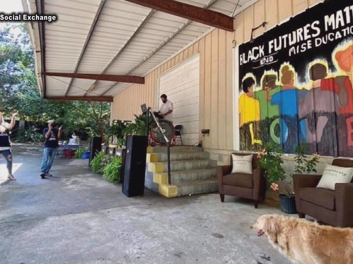 Americus community hopes unveiling of murals will ignite art district