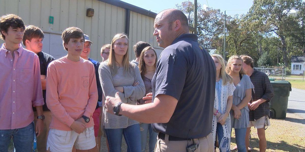 Bainbridge officers teach students 'use of force' lesson