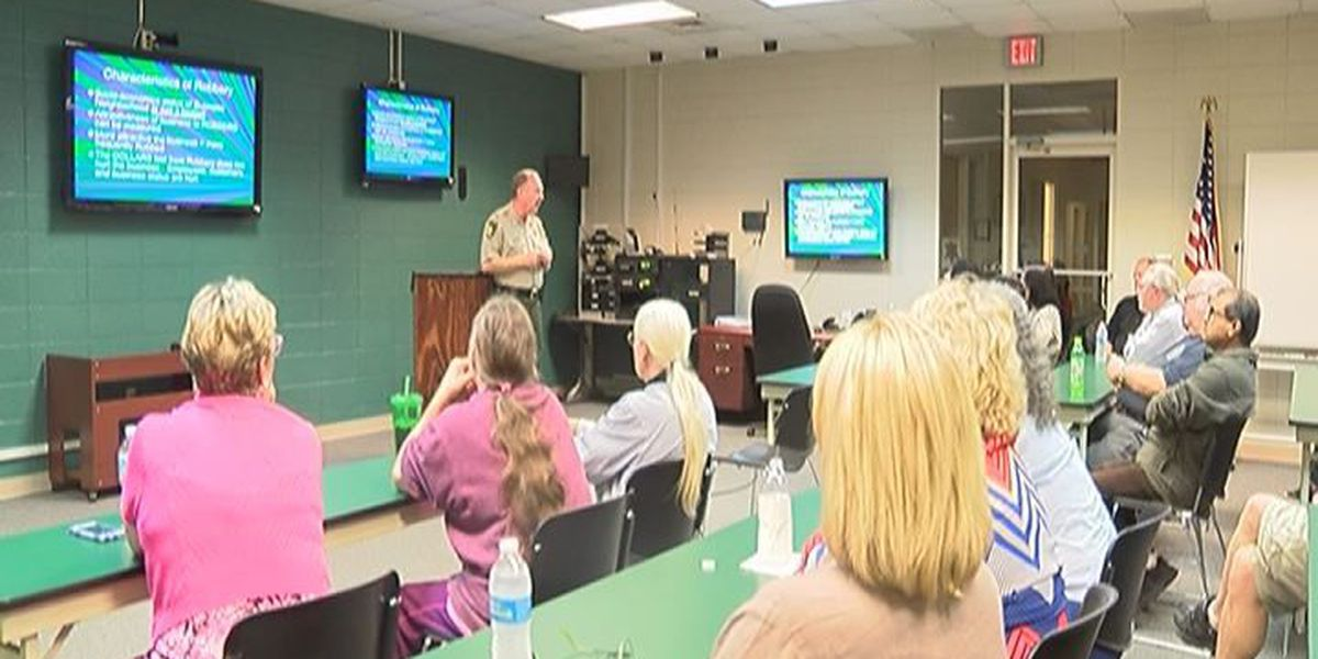 Robbery awareness and prevention class held in Crisp County