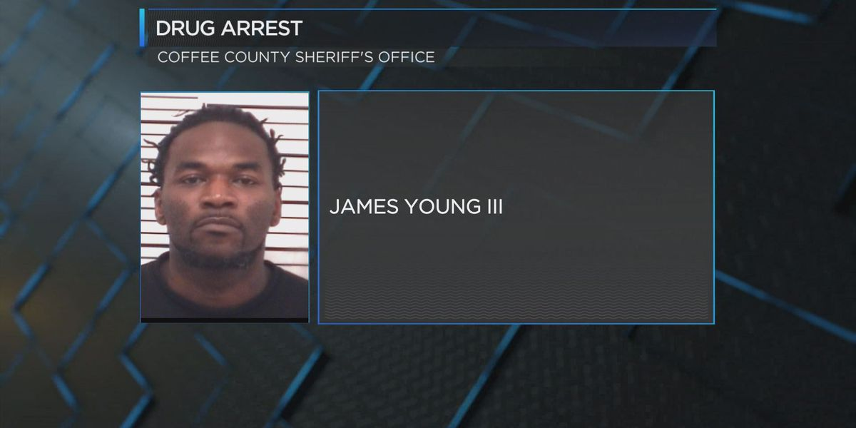 Suspected drug dealer arrested in Coffee Co.