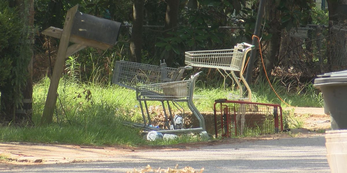 Trash and debris in Albany worsens after Hurricane Michael