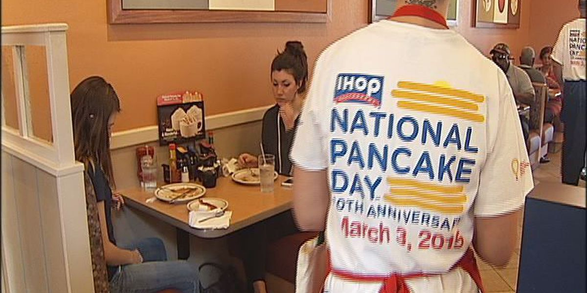 National Pancake Day is back