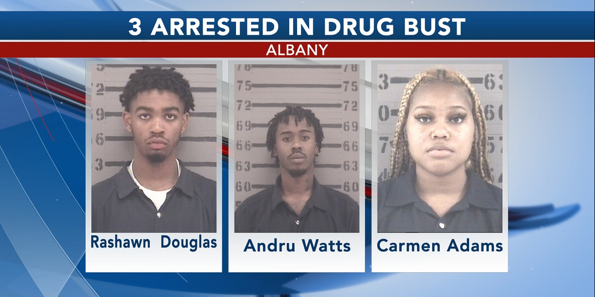 3 arrested in East Albany drug search