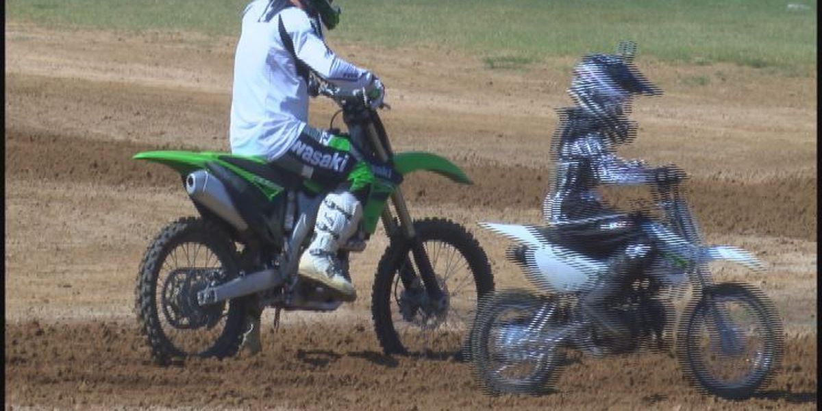Motocross brings military families together