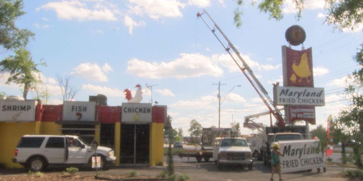 Maryland Fried Chicken marks storm relief milestone