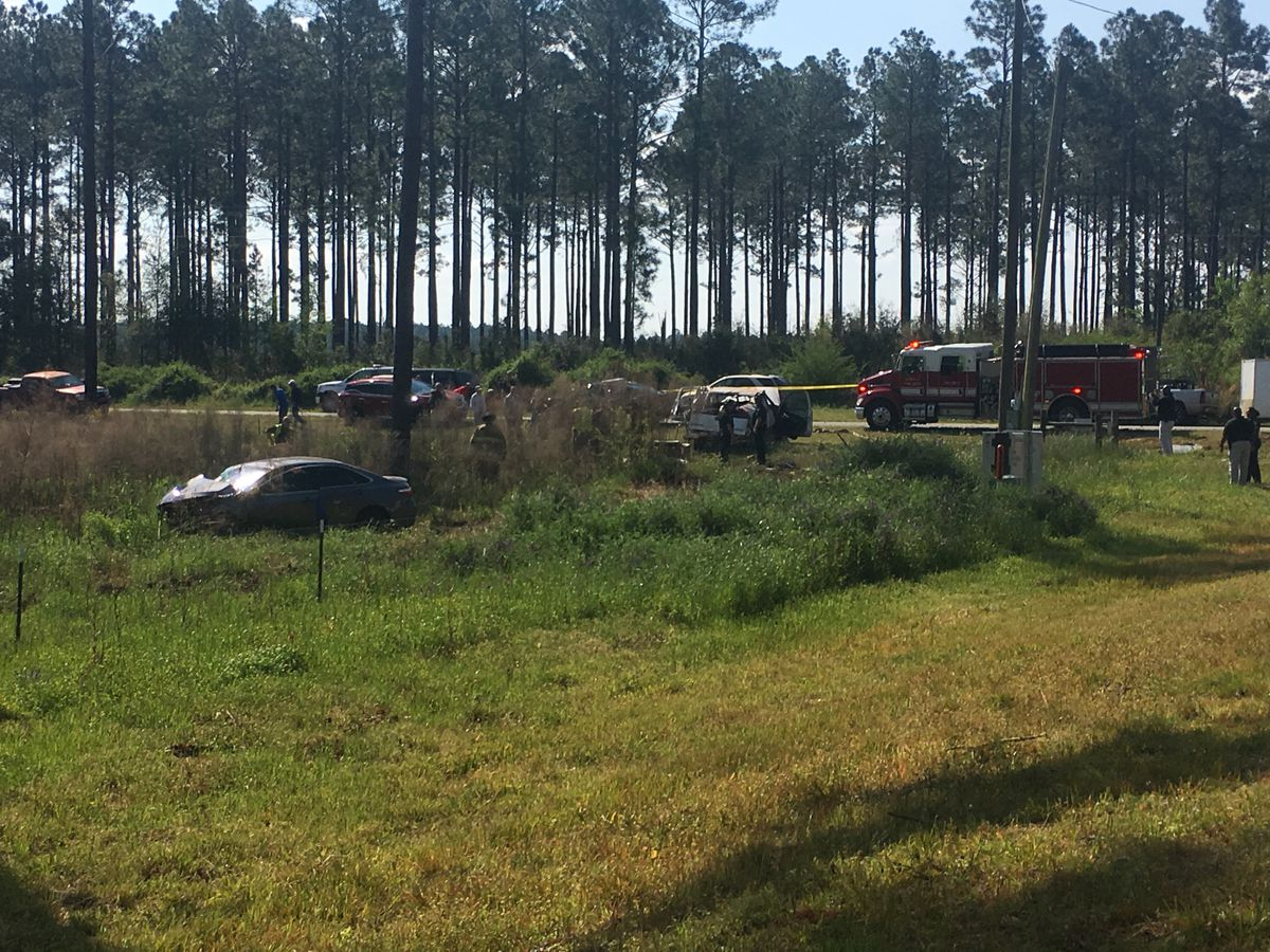 1 fatality in Gravel Hill and Nelms Road crash
