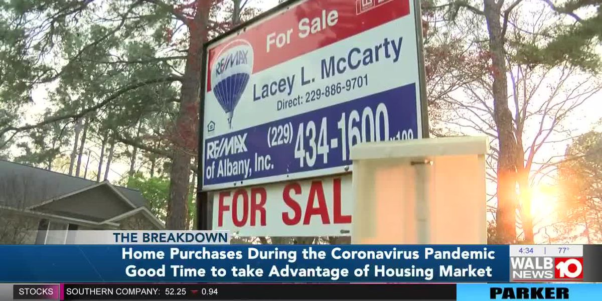 Home purchases during the coronavirus pandemic is a good time to take advantage of housing market