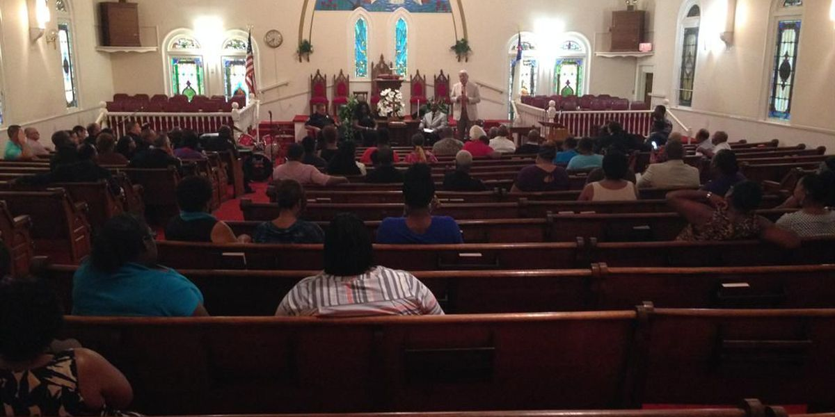 Community comes together to reflect on national tensions
