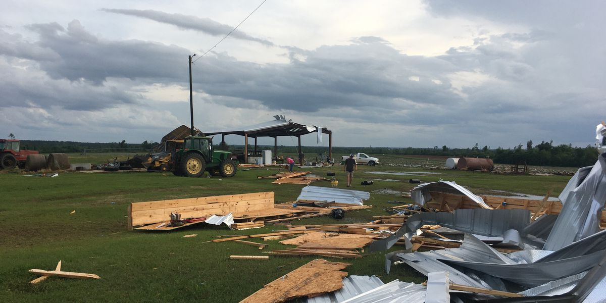 1 injured in Tuesday's storms in Turner Co.