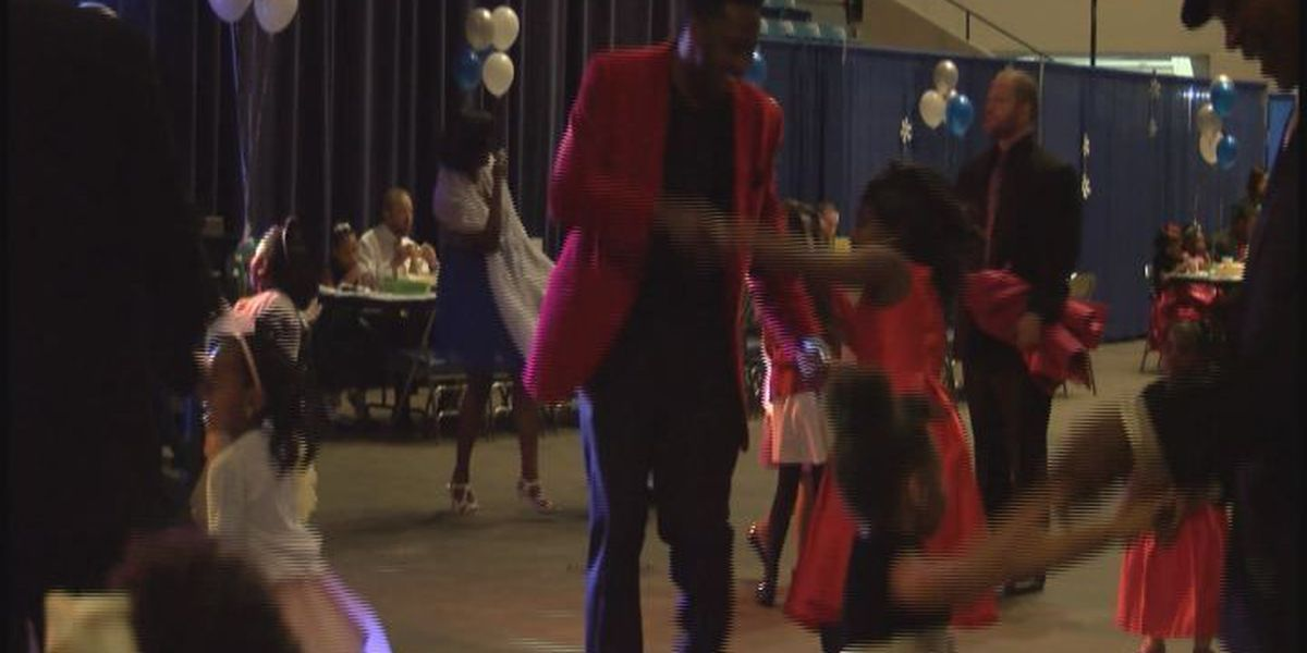 Daddy daughter dance benefits nonprofits