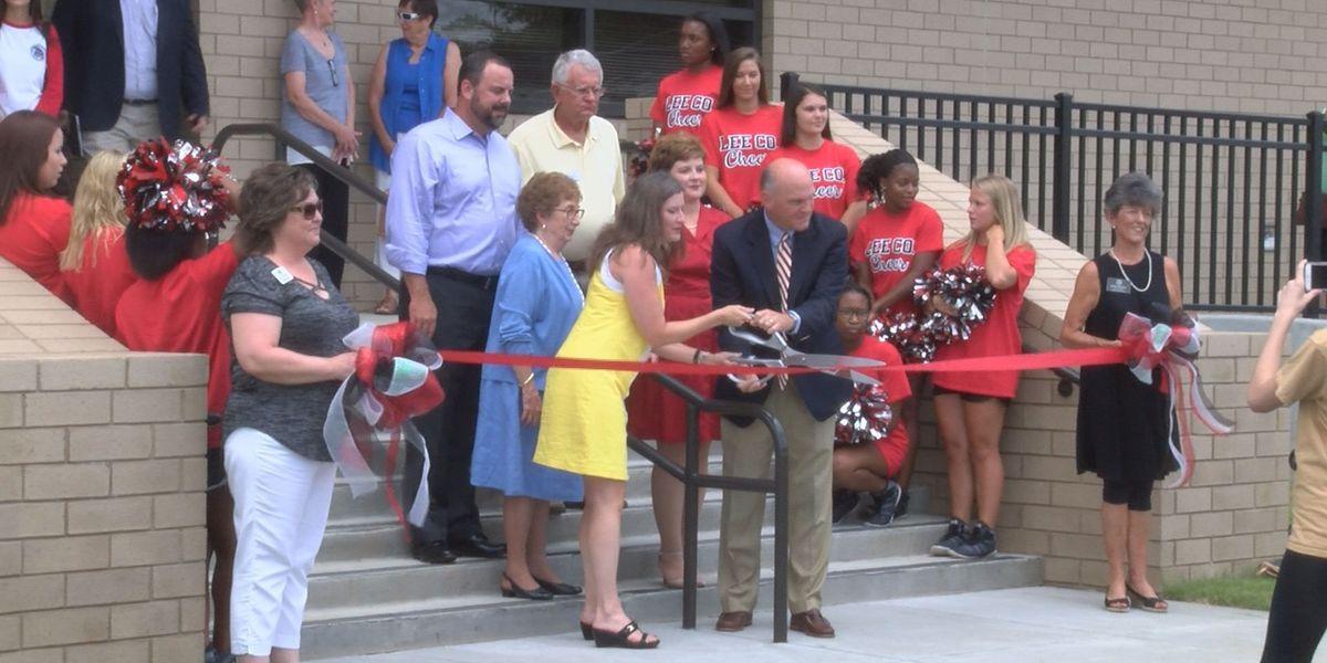 High school celebrates new addition