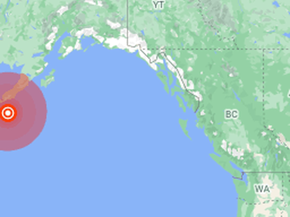 Large earthquake off Alaska prompts tsunami fears, fleeing