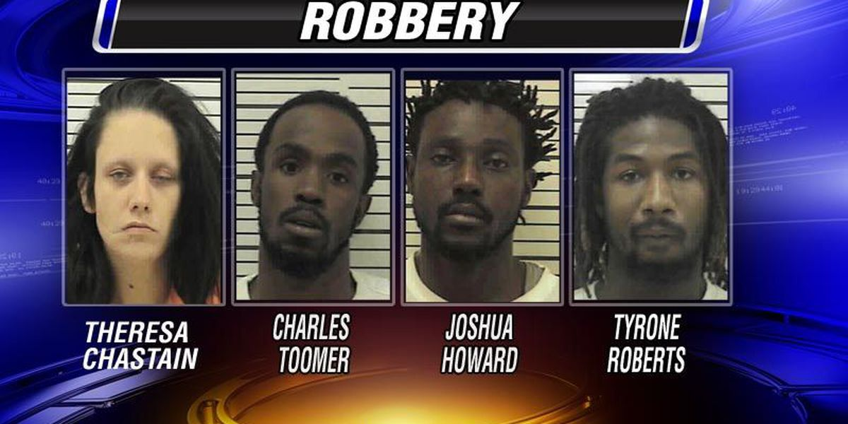 Three caught, one sought in Doerun robbery