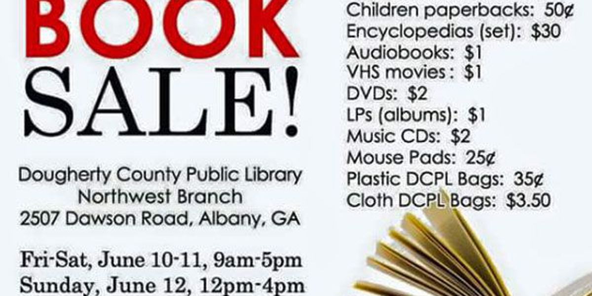 Dougherty Co. Library holds book sale