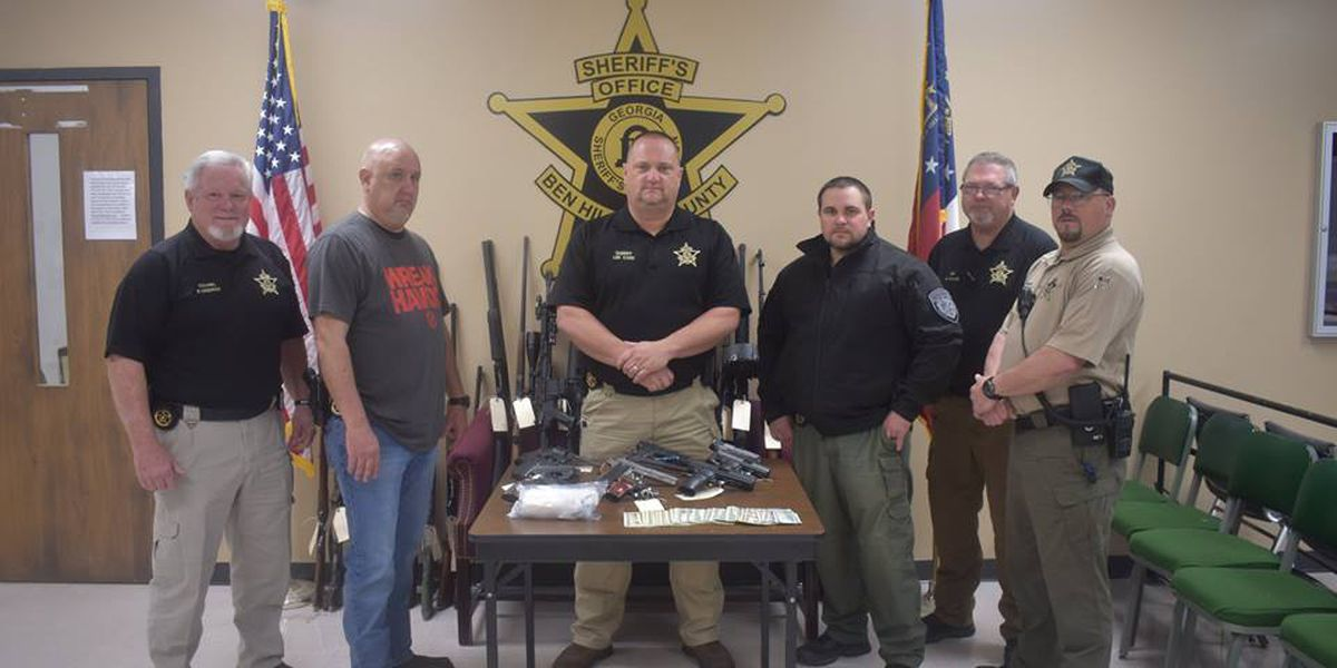 Meth ring busted in Ben Hill County