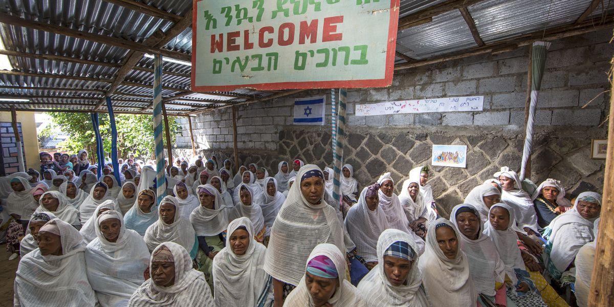 Ethiopia Jews protest Israeli government's emigration delays