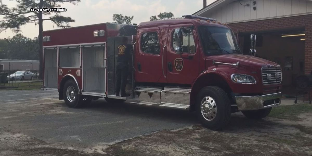 Moultrie Fire Department orders additional fire truck