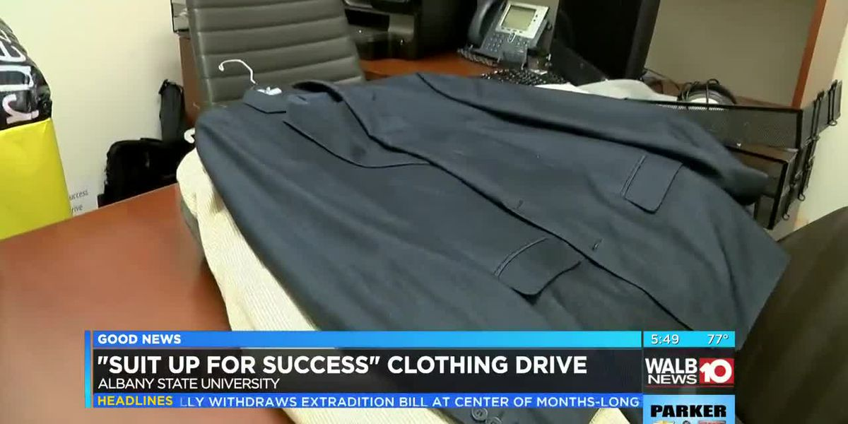 Good News: Suit Up For Success clothing drive