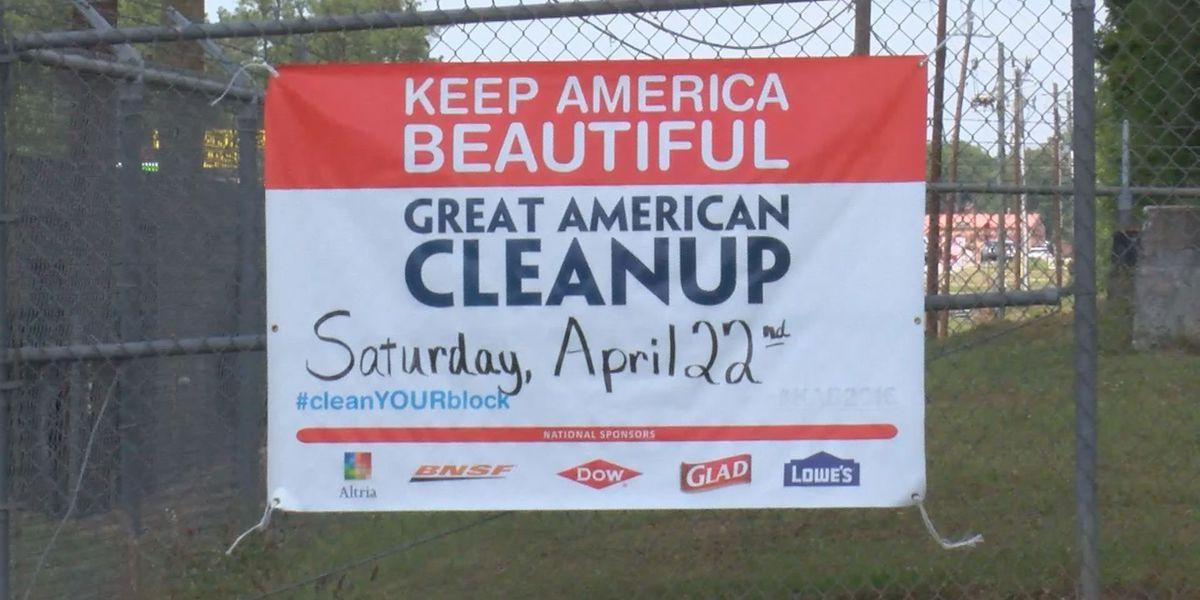 Great American Clean-Up happens Saturday