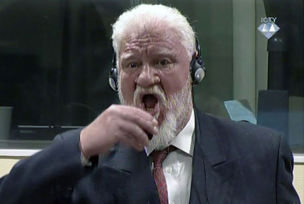 General Slobodan Praljak Video >> Probe fails to unravel mystery of Croat's courtroom suicide