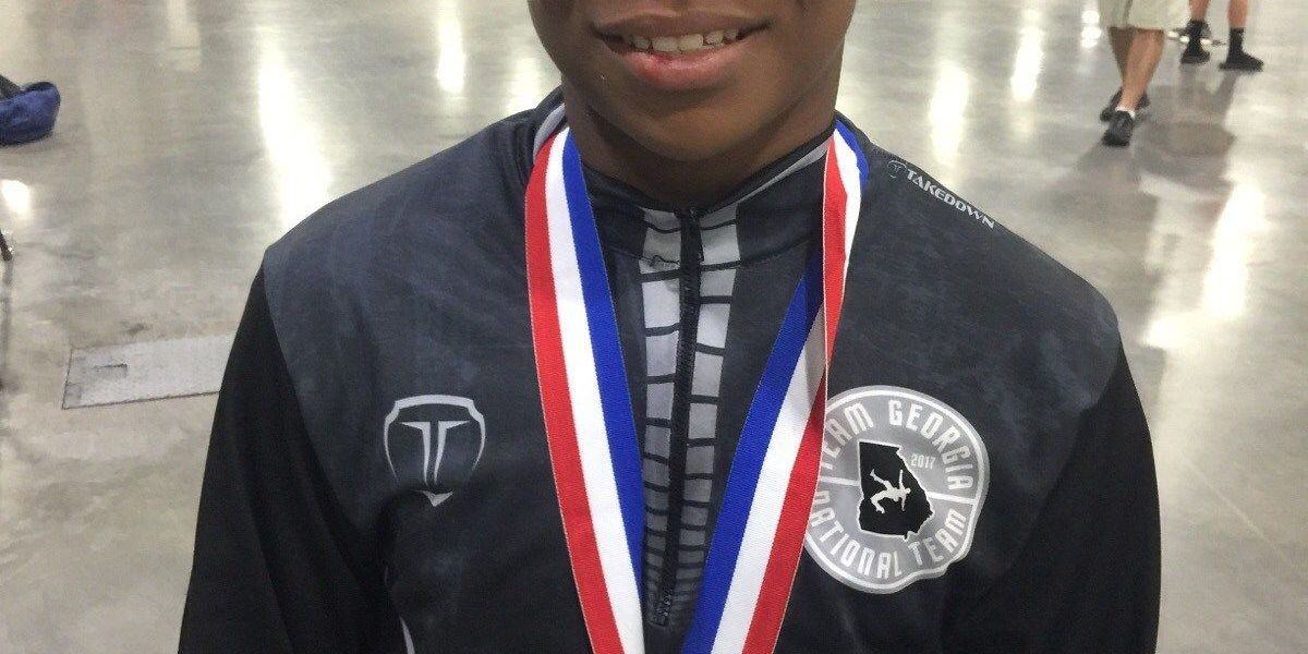 Albany wrestler claims two youth national titles