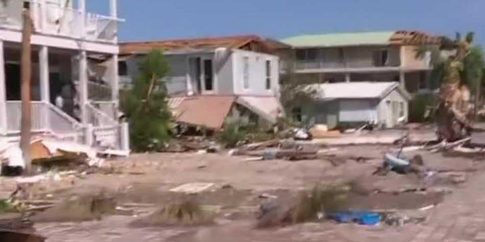 Florida beach town devastated by Hurricane Michael