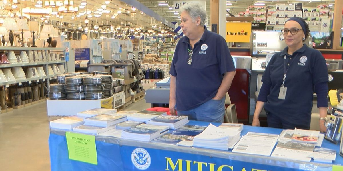 FEMA and Lowe's employees offer rebuilding tips
