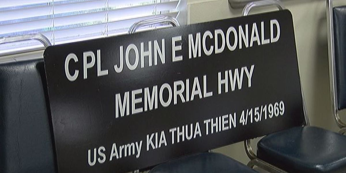 Portion of Shiloh Rd. renamed to honor Hahira Army soldier