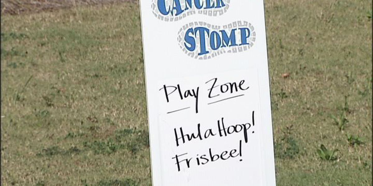 Second annual Cancer Stomp in Albany