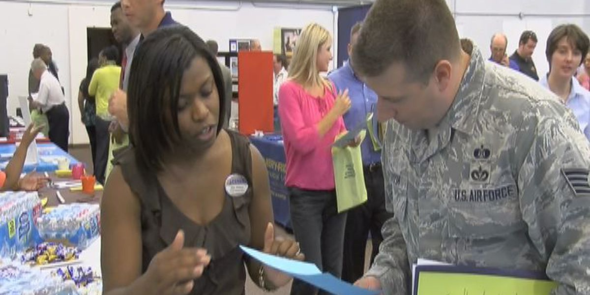 Today's job fair is focused on Vets