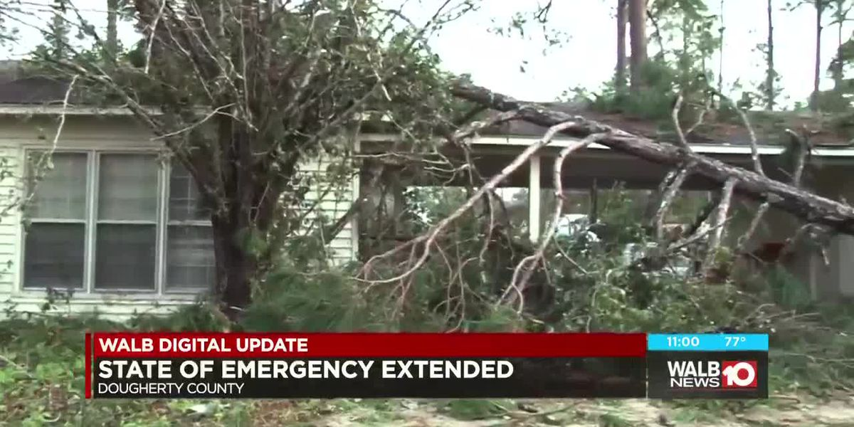Local State of Emergency extended for Dougherty County