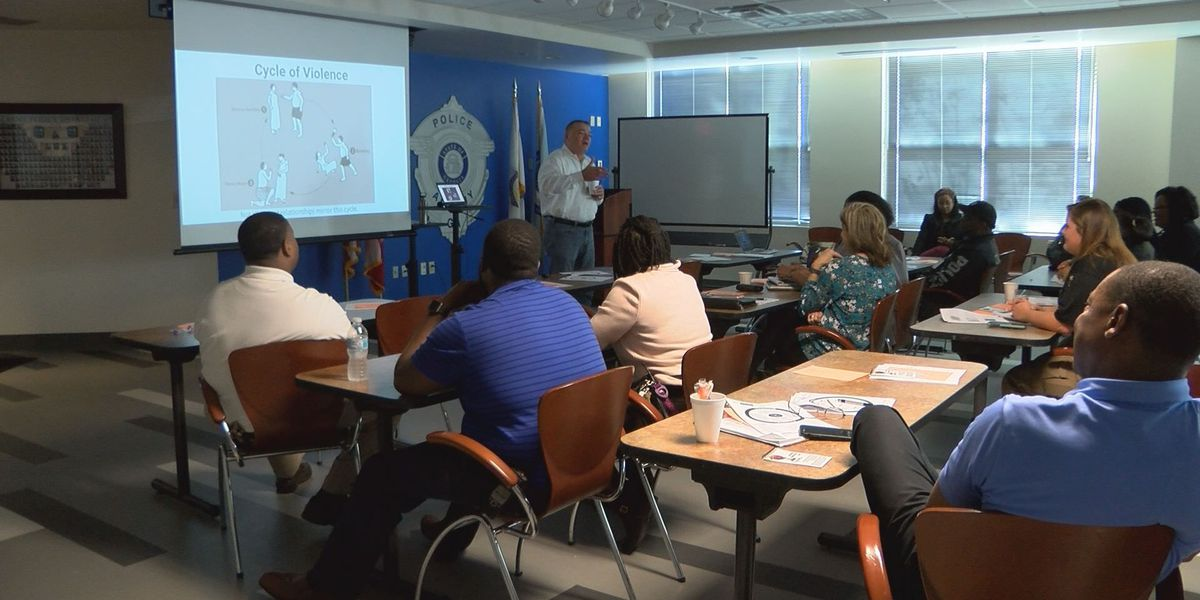 South GA officers participate in domestic violence training